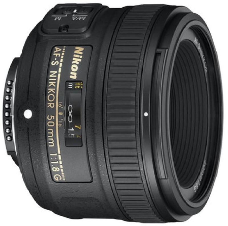 Nikon AF-S NIKKOR 50mm f/1.8G Lens(Standard Lens)