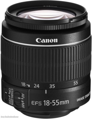 Canon-EF-S-18-55mm-f/3.5-5.6-IS-II--Lens