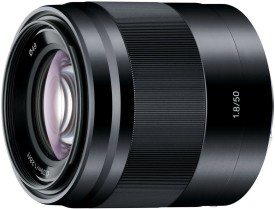Sony SEL50F18 Lens(Black, 50)
