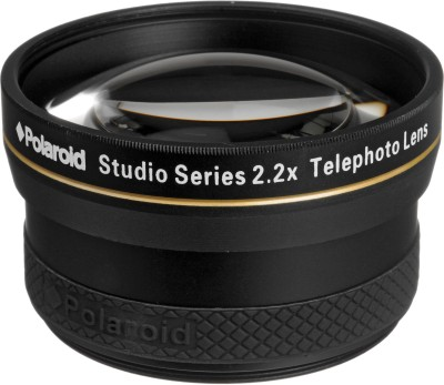 Polaroid 2.2X Hd Telephoto Lens 58Mm  Lens(Black, 58) at flipkart