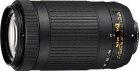 Nikon AF-P DX NIKKOR 70 - 300 mm f/4.5 - 6.3G ED Lens(Black)