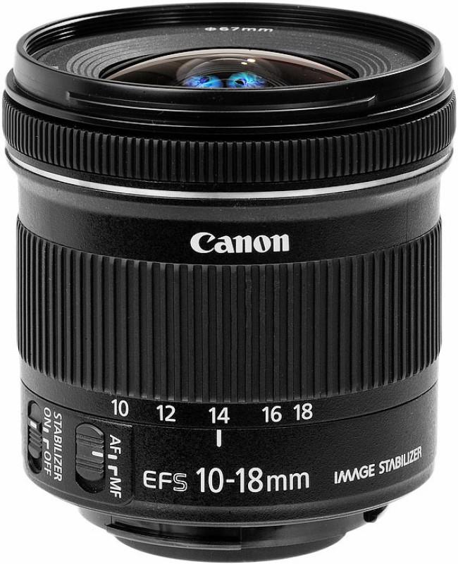 Canon EF-S 10 - 18 mm f/4.5 - 5.6 IS STM  Lens