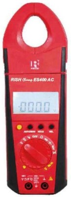 Rishabh Es 400 Ac Clamp multiMeter Ac With Rotating Non-magnetic Electronic Level