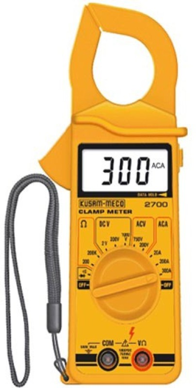 Kusam Meco KM-2790 Digital Multimeter(Yellow 2000 Counts)
