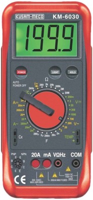 Kusam Meco 6030 Digital Multimeter With Mechnical Terminal Blocking System Non-magnetic Electronic Level