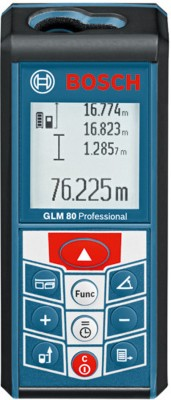 Bosch GLM 80 Professional Laser Measuring Tool Non-magnetic Engineer's Precision Level(11.1 cm)