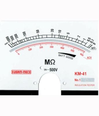Kusam Meco 500v Analog Insulation Tester Non-magnetic Electronic Level