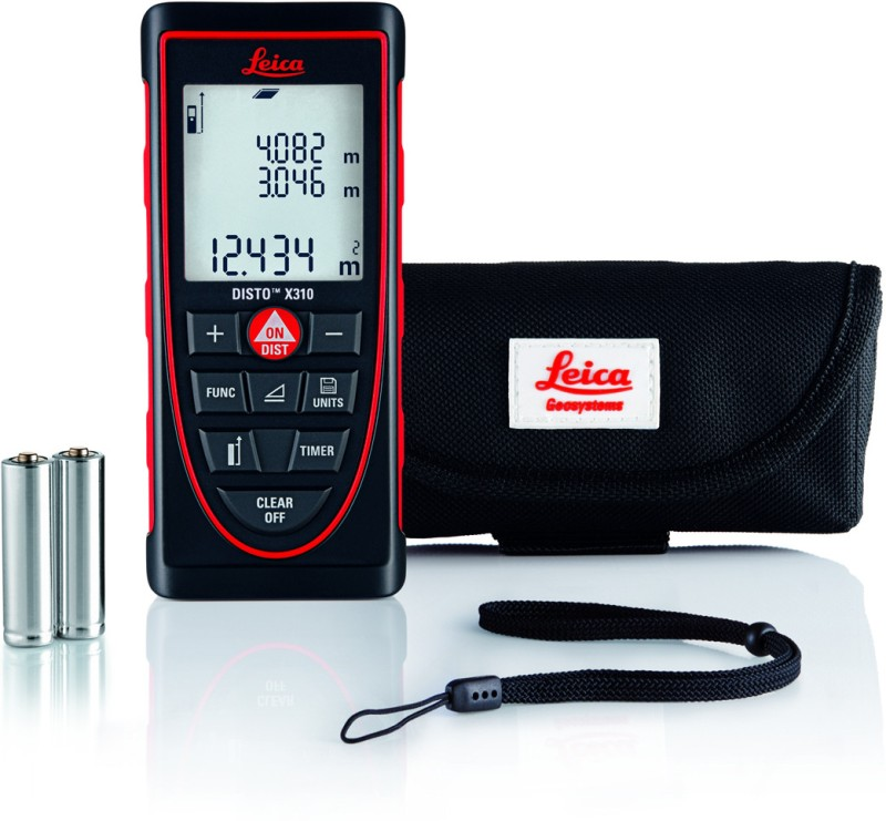 Leica Disto X310 Laser Distance Meter Non-magnetic Engineer's Precision Level(12.2 cm)
