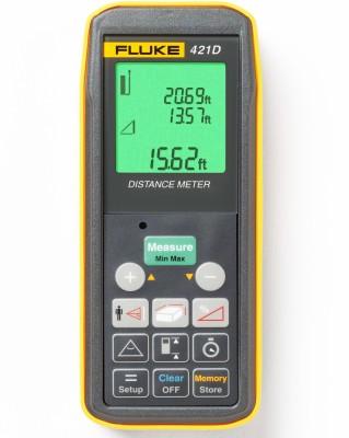 Fluke 421D Laser Distance Meter Non-magnetic Electronic Level