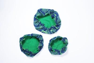 Aksobha Go Green No Plastic 12.5 inch Lid Set
