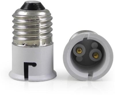 SRKC E27 to B22 Led Bulb Base Adapter Plastic, Stainless Steel Light Socket