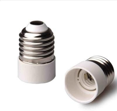 SRKC E27 to E14 Led Bulb Base Adapter Plastic, Stainless Steel Light Socket