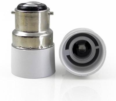 SRKC B22 to E14 Led Bulb Base Adapter Plastic, Stainless Steel Light Socket