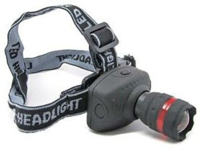 Divinext Head Light Flash Light LED Zoom Head Light Head Lamp High Power Long Range LED Headlamp(multicolor)