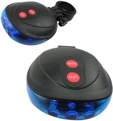 Letdooo Rear Light with Laser Beam LED Rear Break Light