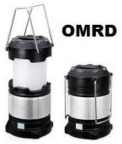 View OMRD Plastic Lantern LED Lantern(Multicolor) Home Appliances Price Online(OMRD)