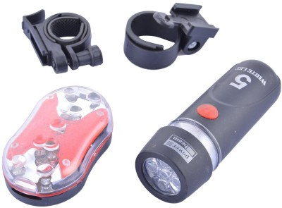 CycleX Power Beam LED Front Light(Black, Red)