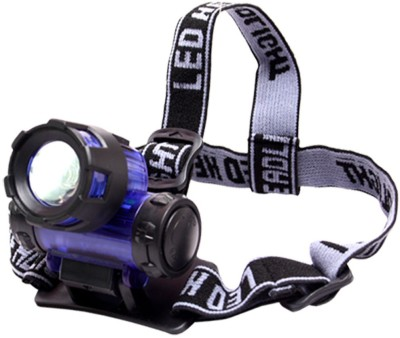 JM Long Range LED Headlamp(Multicolor)