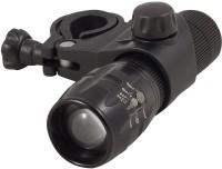 Letdooo Focus Adjustable Visibility LED Front Light(Black)