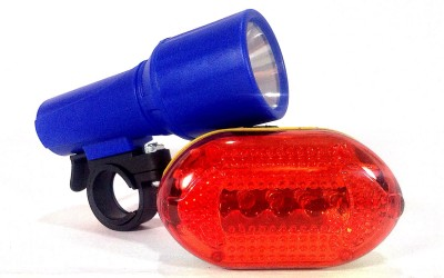 Letdooo Ultra Visibility LED Front Rear Light Combo