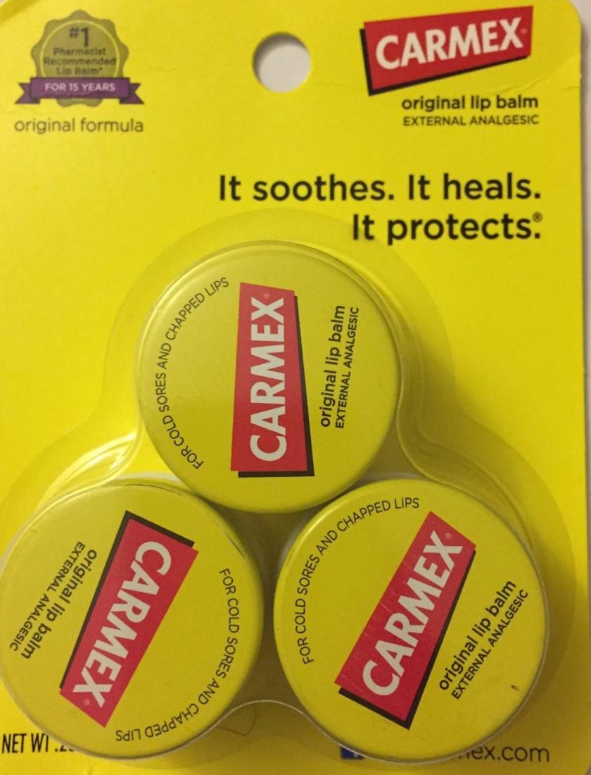 Carmex Original Lip Balm Yellow
