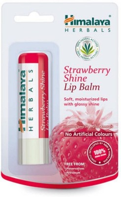 Himalaya Strawberry Shine Lip Balm Natural Strawberry(4.5)