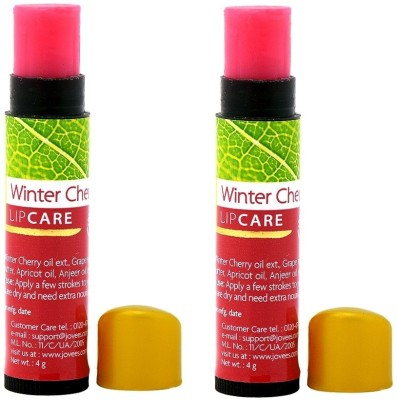 Jovees Winter Cherry Lip Care Pack Of 2