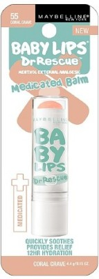 Maybelline Baby Lips Dr. Rescue Medicated Balm Fruity