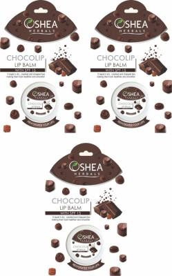 oshea herbals choco lip balm with spf chocolate