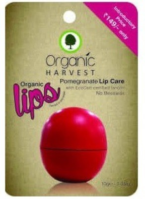Organic Harvest Lip Care Pomegranate