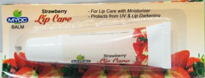 Salvia Lip Balm With Sunscreen & Moisturizer Protects From Uv Strawberry