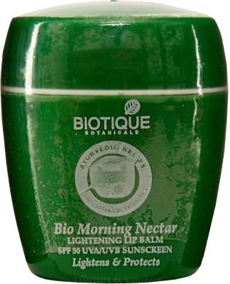 Biotique Bio Morning Nectar Lightening Lip Balm