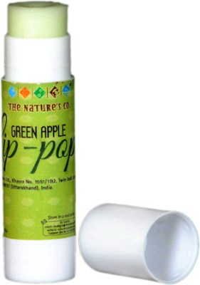 The Nature's Co Green Apple Lip-Pop Fruity Flavor