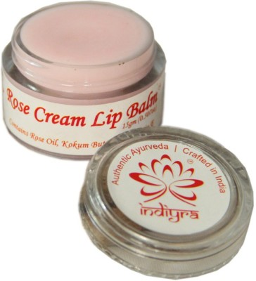 Indiyra Cream Lip Balm Rose