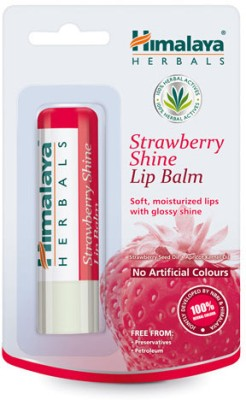Himalaya Strawberry Shine Lip Balm Natural(4.5 g)