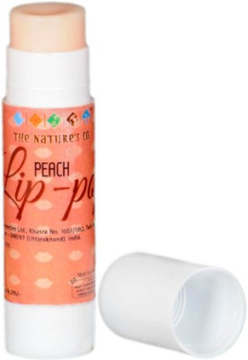 The Natures Co Peach Lip-Pop Fruity Flavor