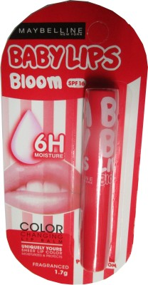 Maybelline Maybelline baby lips bloom, spf 16 pink bloom Peach Blossom