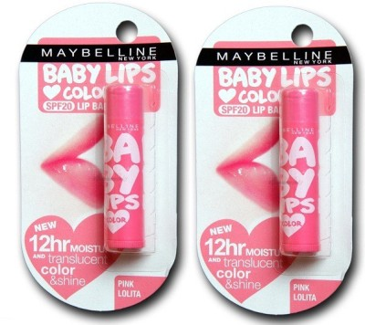 Maybelline Baby Lip (Pink Lolita) strawberry