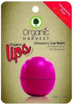 Organic Harvest Strawberry Lip Balm Strawberry