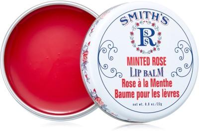 rosebud lip balm minted rose