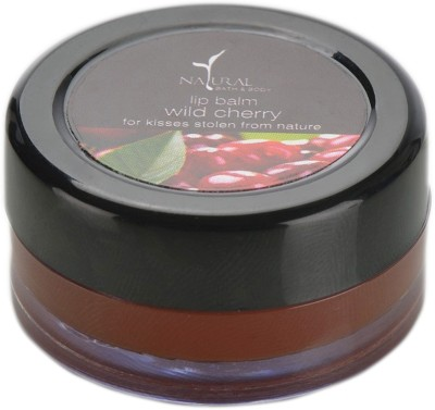 Natural Wild cherry Lip Balm Wild cherry
