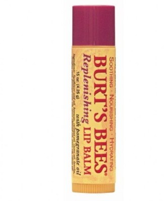 Burts Bees Replenishing Lip Balm Pomegranate