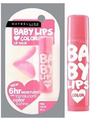 Maybelline Pink Lolita &Cherry kiss Pink, Cherry