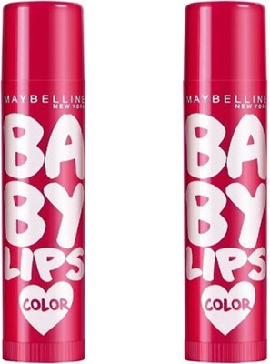 Maybelline Baby Lips Color Balm Berry Crush Combo Pack Of 2 (8 g) Berry(8 g)