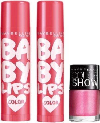 Maybelline Baby Lips Rose Addict Combo with Offer
