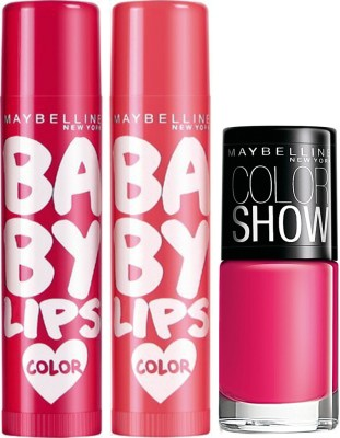 Maybelline Baby Lips Combo 1 - Pack of 2
