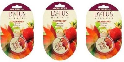 Lotus LIP BALM STRAWBERRY(15 g)