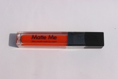 Incolor Matte Me(Fire Orange)