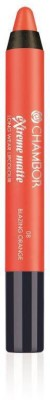 Chambor Extreme Matte Long Wear Lip Color(Blazing Orange 08)