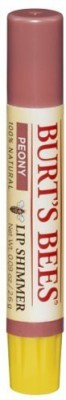 Burts Bees Lip Shimmer, Peony (Pack Of 4) 15 ml